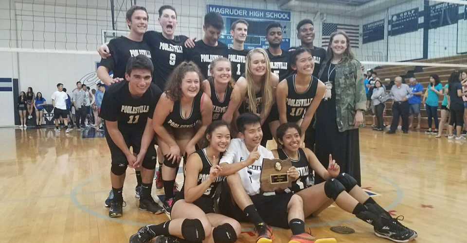 Coed Volleyball - 2017 MCPS Champions