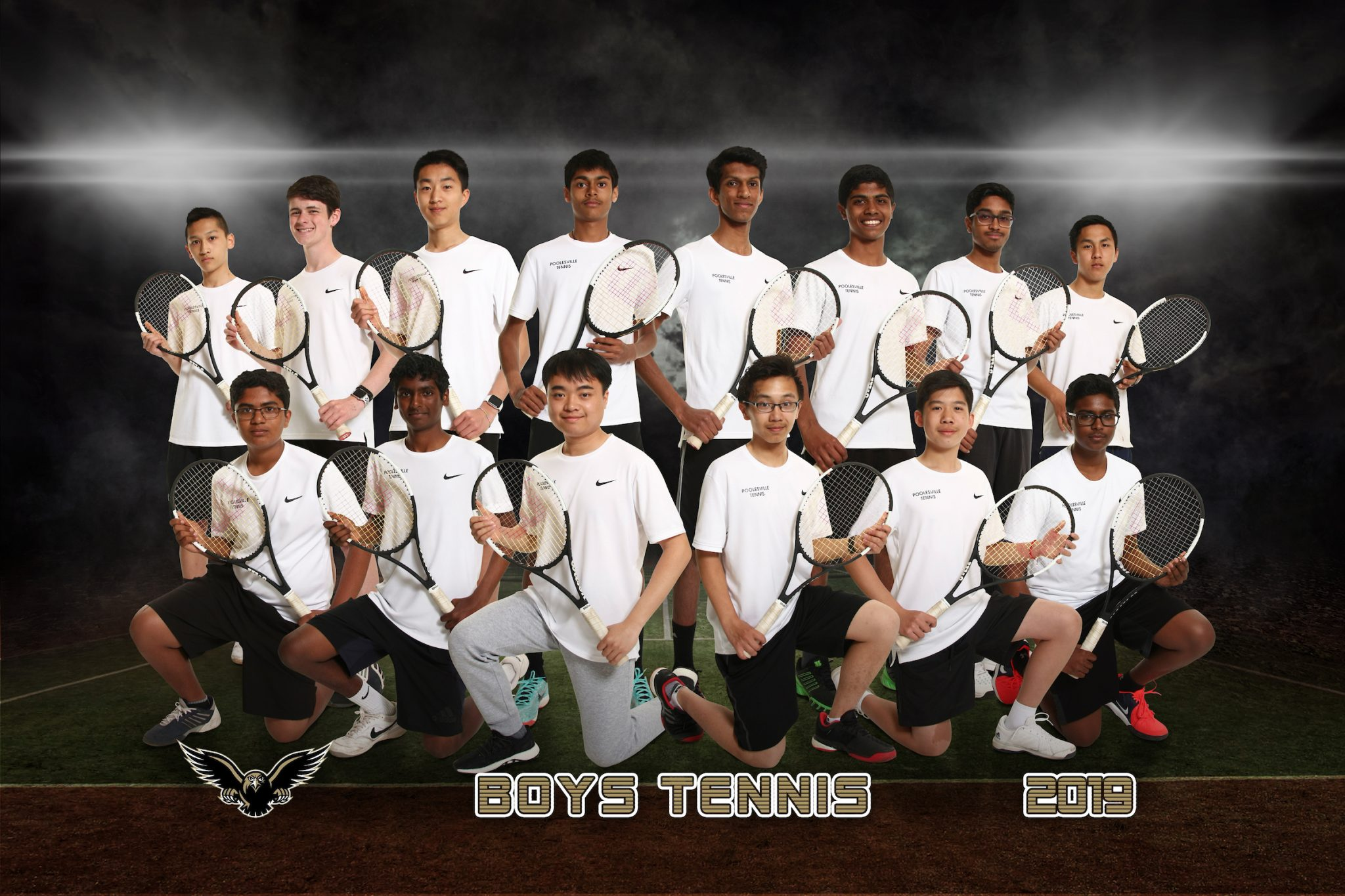 boys tennis team picture