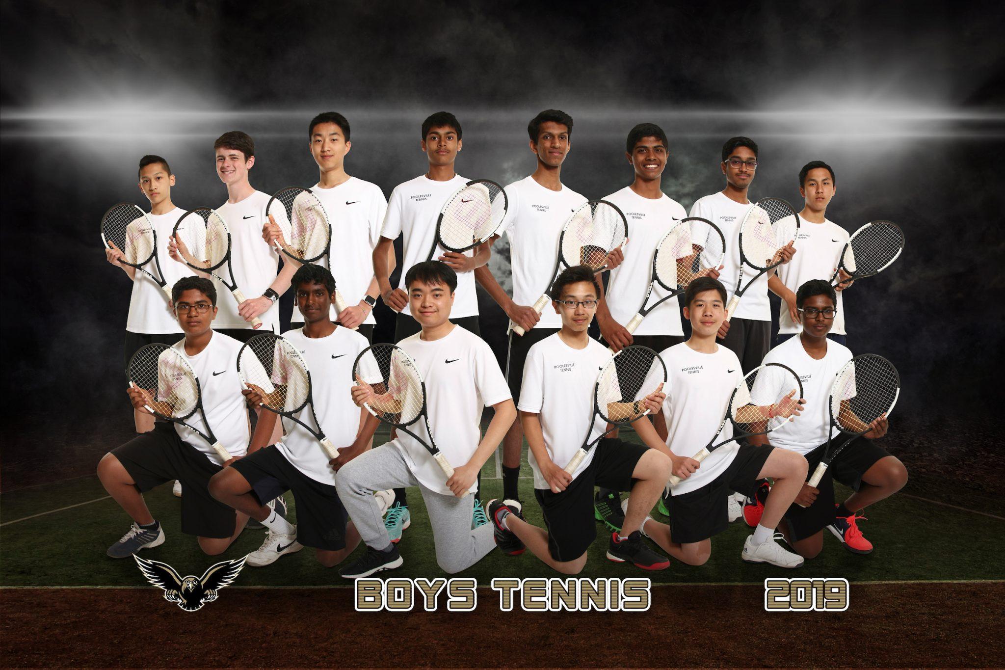 boys tennis team picture