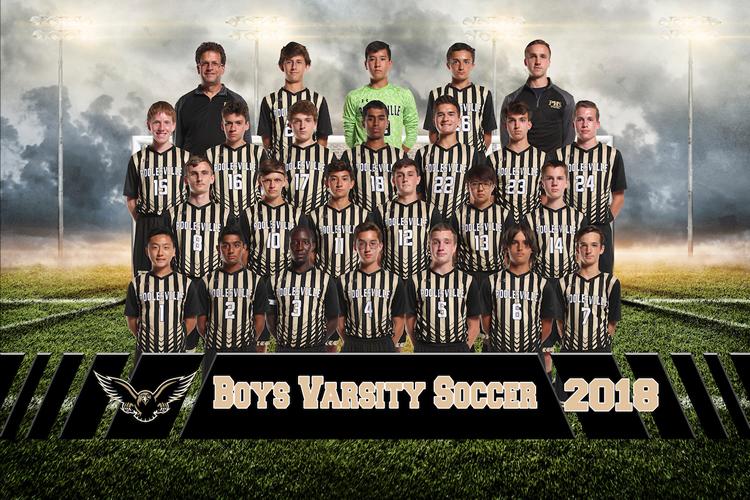 boys varsity soccer 2018