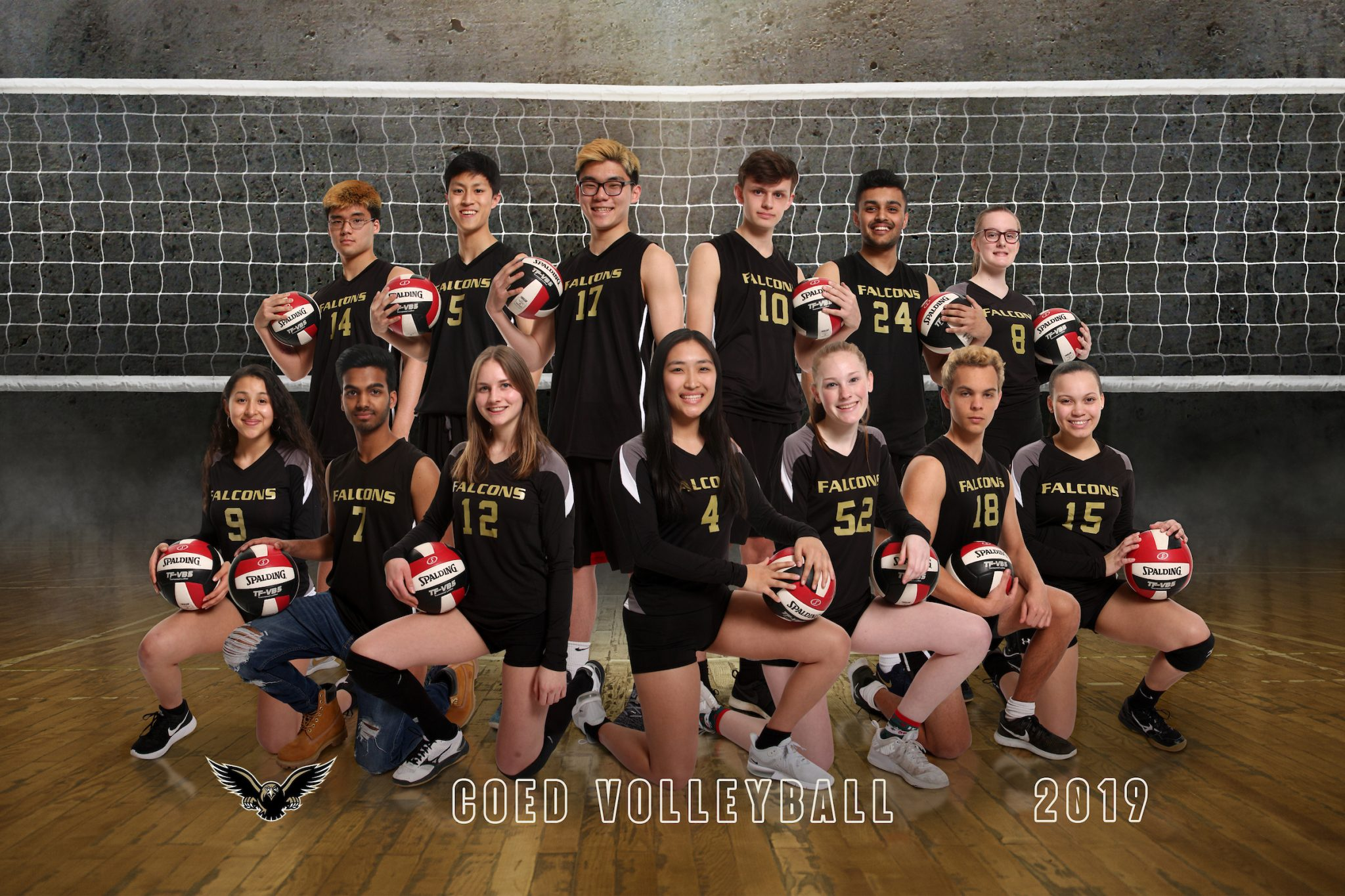 coed volleyball team picture