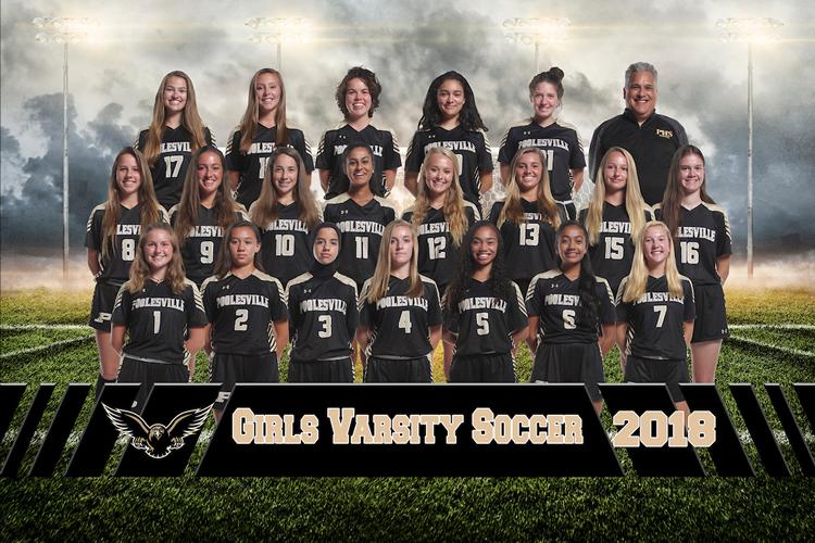 girls varsity soccer 2018