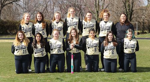 jv softball team photo
