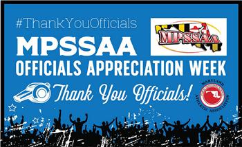 MPSSAA Officials Appreciation Week