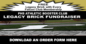 PHS Athletic Booster Club Legacy Brick Fundraiser. Download an order form here.
