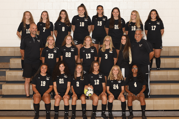 girls junior varsity soccer 2019