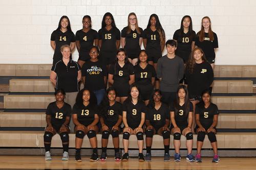 girls junior varsity volleyball 2019