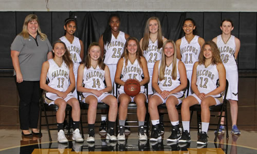 girls jv basketball team photo