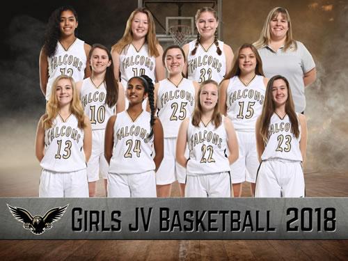 girls jv basketball team picture