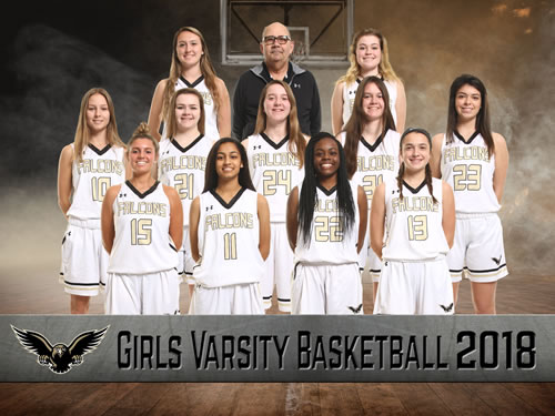 girls varsity basketball team picture