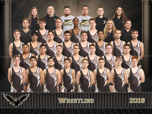 wrestling team picture
